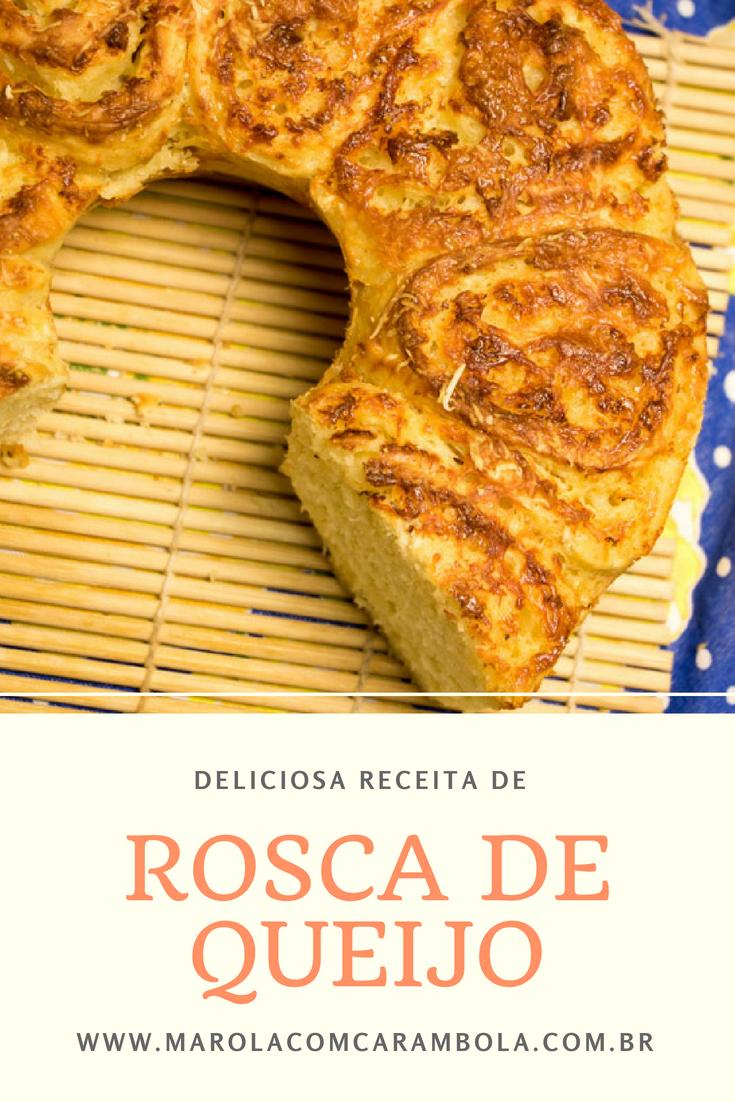 Receita de Rosca de Queijo