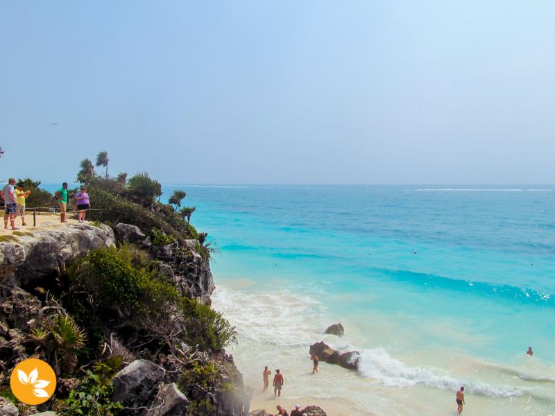 Praia de Tulum no México