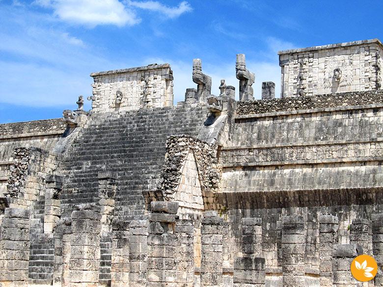 Ruínas em Chichén Itzá