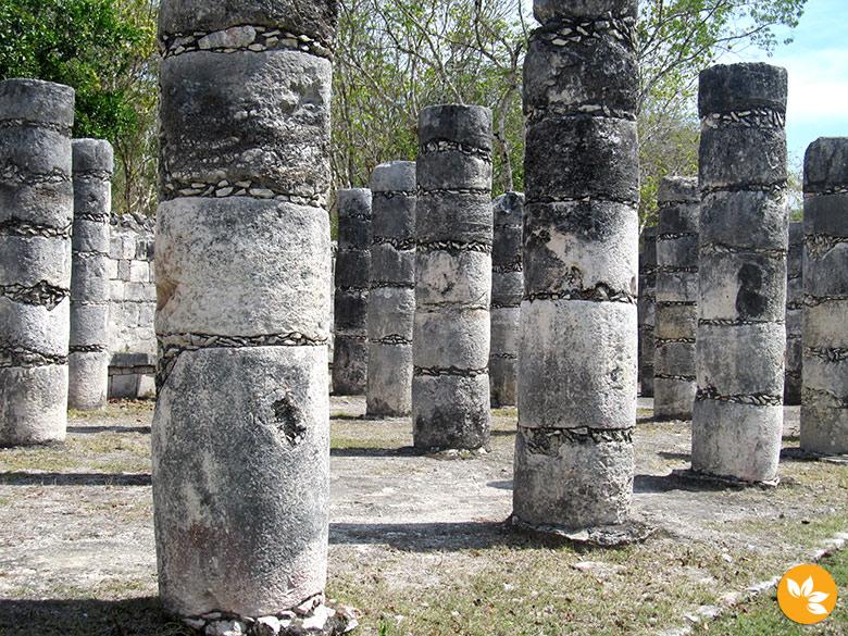 Praça das mil colunas