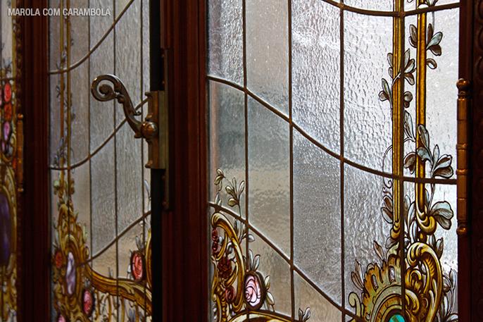 Detalhes do Salão nobre