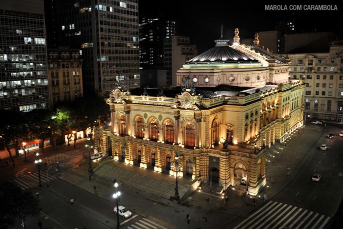 O Theatro Municipal de São Paulo