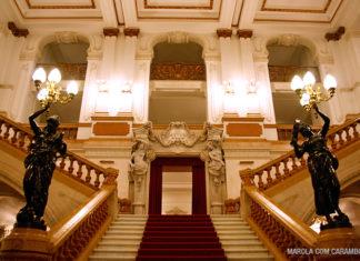 Escadarias - Teatro Municipal de São Paulo