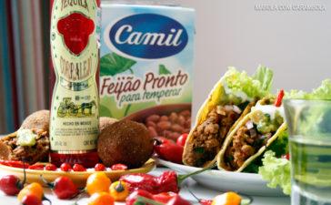 Receita de Bolinho de Chilli Mexicano