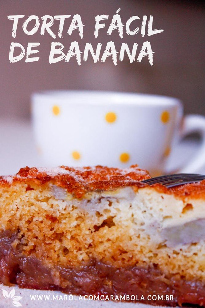Receita de Torta de Banana