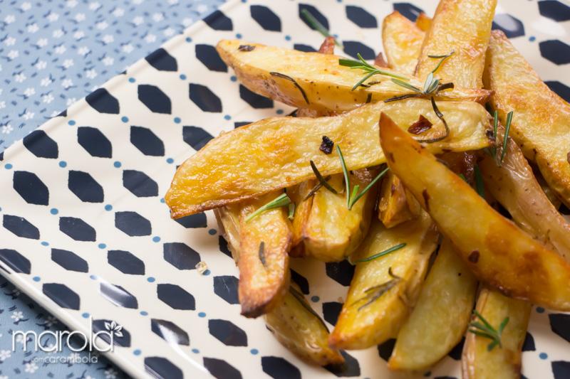 Receita de Batatas assadas com alecrim