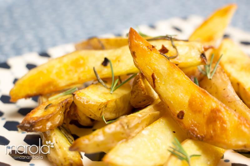 Receias Veganas - Batatas assadas com alecrim
