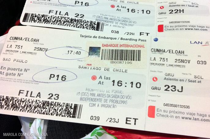 Viagem para Santiago - Chile