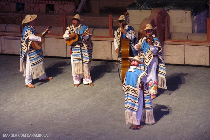Apresentações com músicas do México
