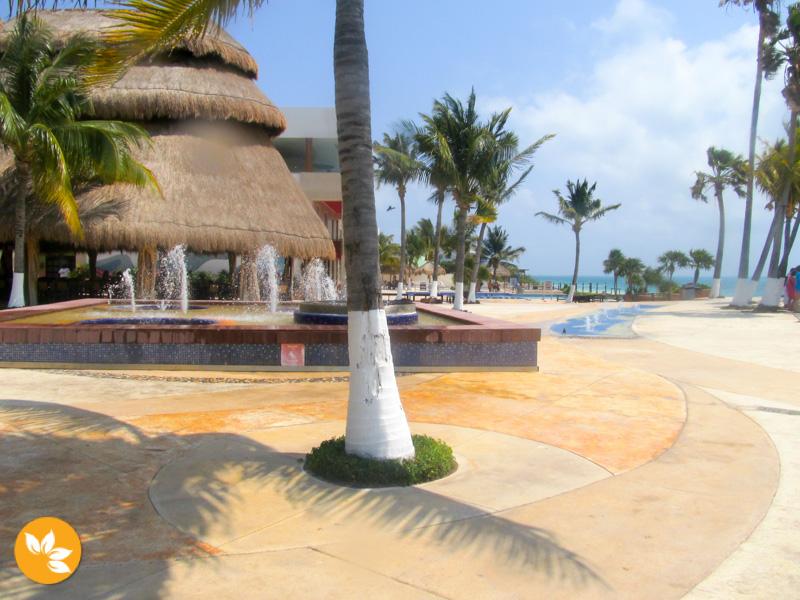 Estrutuda do Dolphin Discovery em Cancún