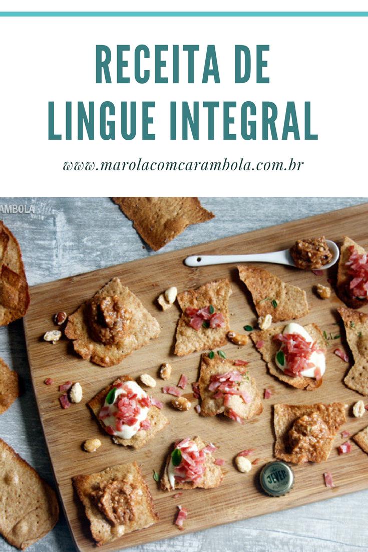 Receita de Lingue Caseiro Integral