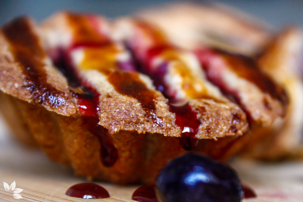 Receitas de Tortinhas de Blueberry