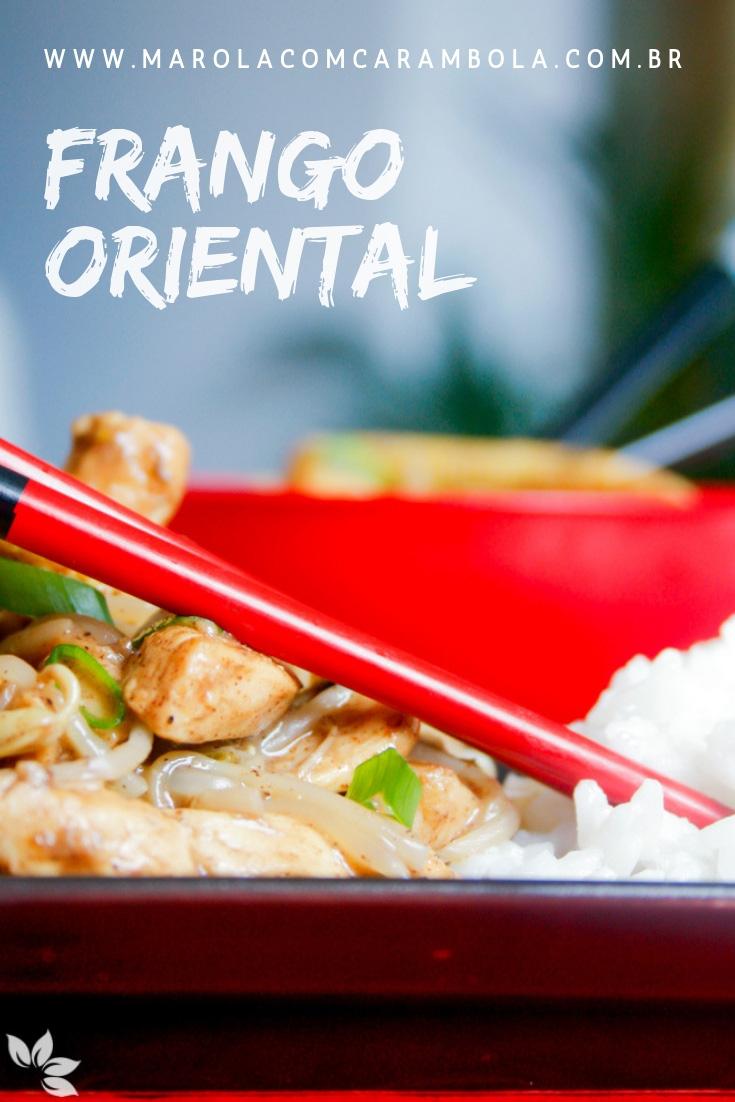 Receita de Frango oriental com arroz jasmine ao leite de coco