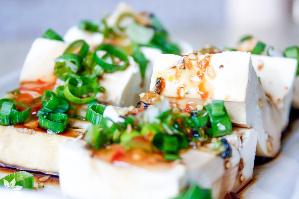 Receita de Tofu com Sweet Chilli