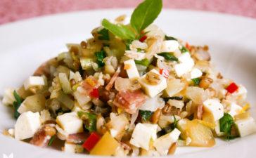 Receita de Salada Arroz 7 Grãos