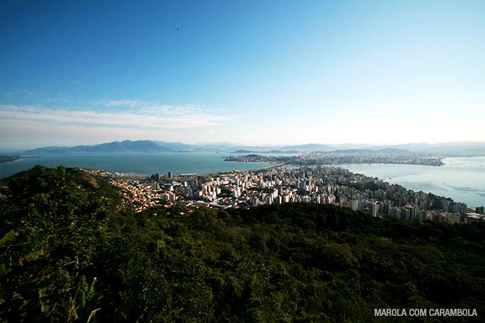 Mirantes de Florianópolis - Morro da Cruz