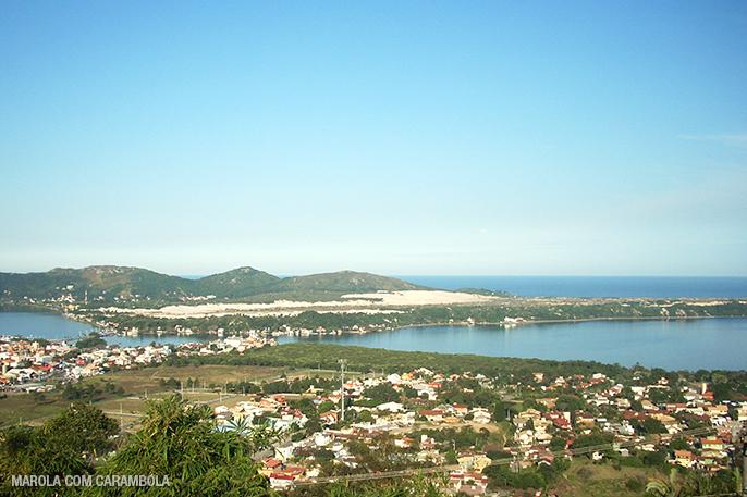 Mirantes de Florianópolis - Morro das Sete Voltas