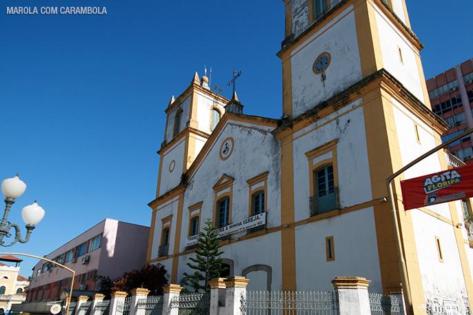 Passeio pelo centro de Florianópolis - Igreja São Francisco de Assis.