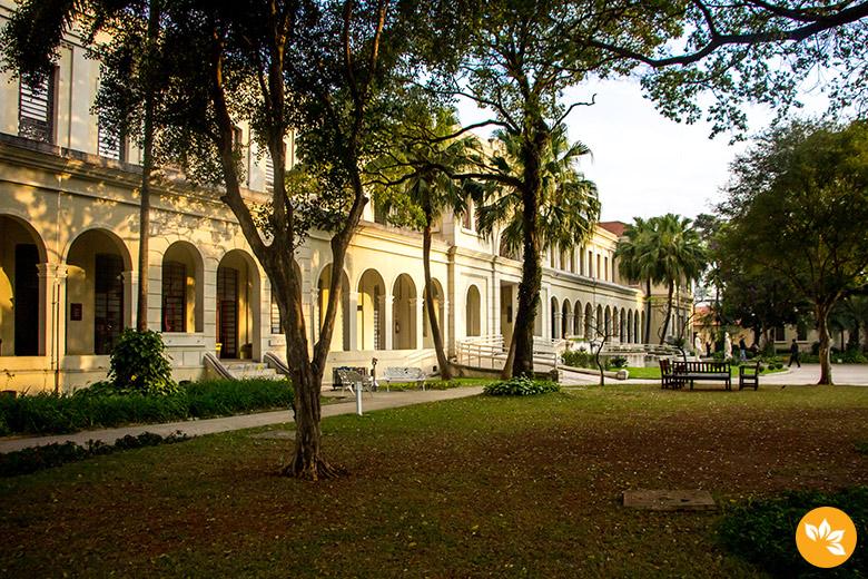 Jardim do Museu da Imigração