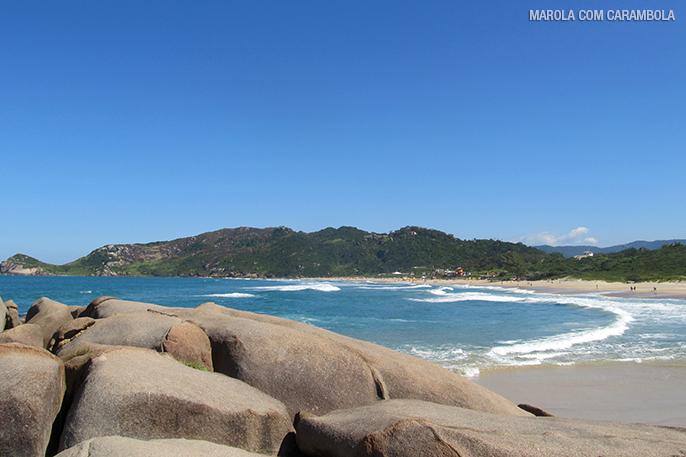 As praias do leste de Florianópolis