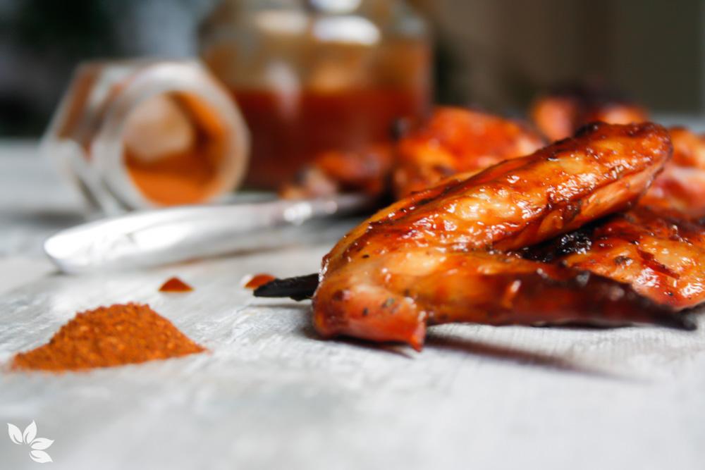 Receita de Bufalo Wings -Asinhas de frango com molho barbecue