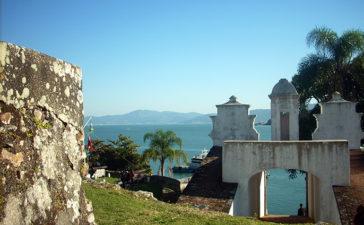 Ilha Anhatomirim em Florianópolis