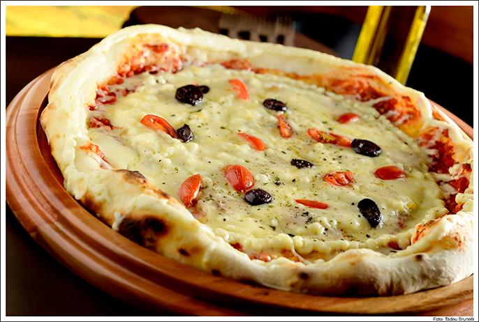 Degustação na pizzaria Graça Di Napolli