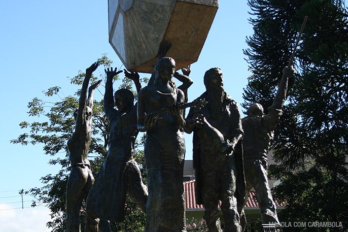 Dicas de passeios em Nova Petrópolis - Monumento do Cooperativismo