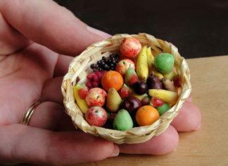 Incríveis alimentos em miniatura