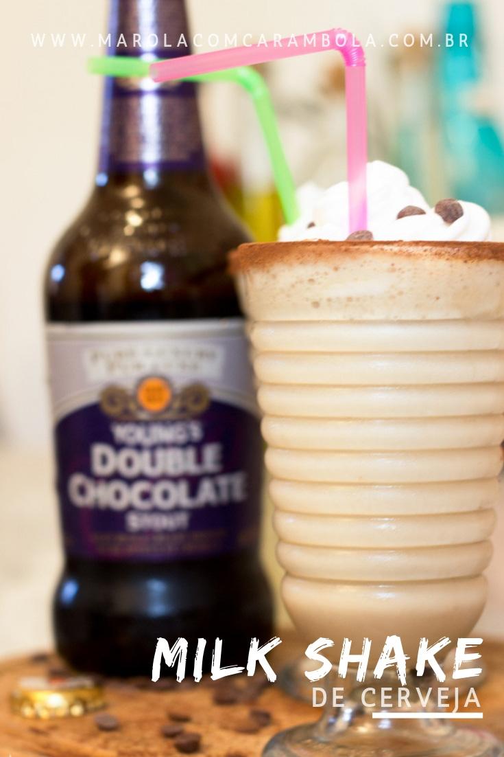 Receita de Milk Shake de Cerveja Stout de Chocolate