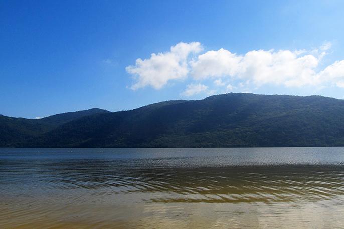 Também é possível curtir água doce em Florianópolis