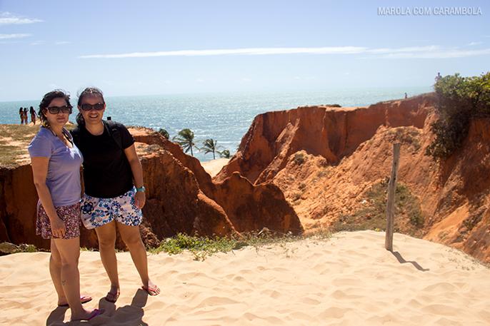 Morro Branco, Praia das Fontes, e Canoa Quebrada