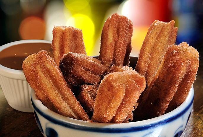 Porção de mini churros | Si Señor Morumbi - SP