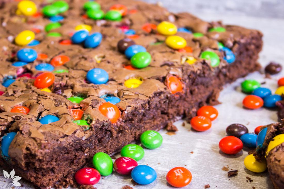Receita de Brownie de MM'S