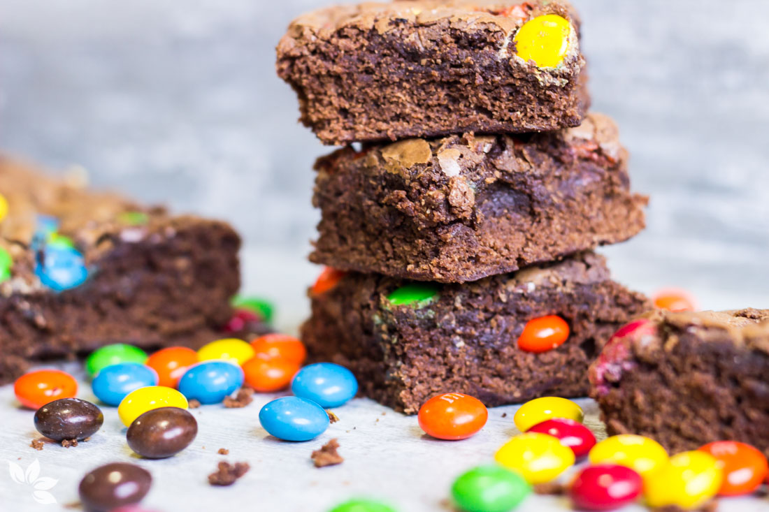 Receita de Brownie de MM'S