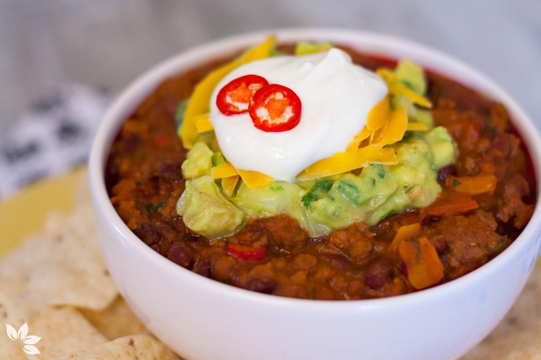 Receita de Chilli Mexicano, Receita de Chilli com Carne, Receita de Chilli Beans