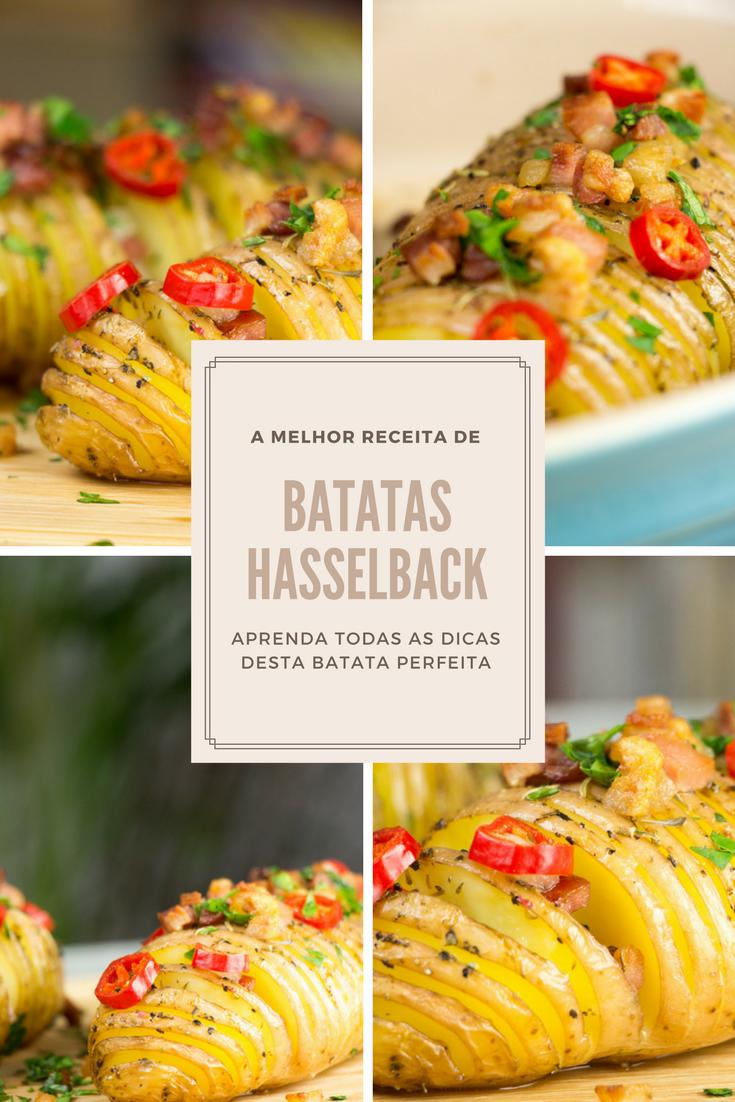 Receita de Batatas Hasselback