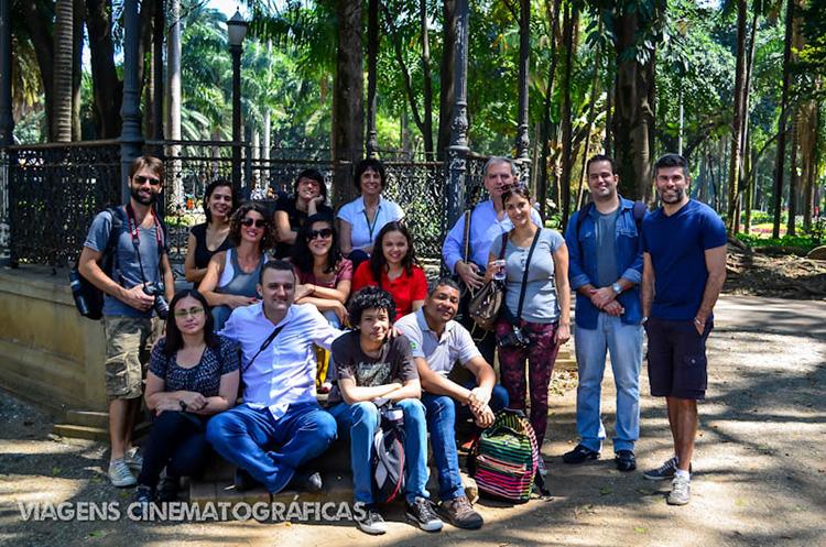 Grupo do Tour Memórias da Política Paulistana