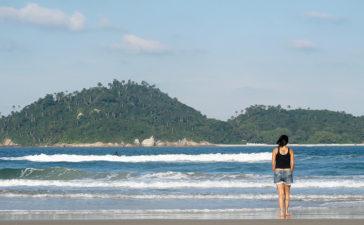 Praiado Campeche em Florianópolis