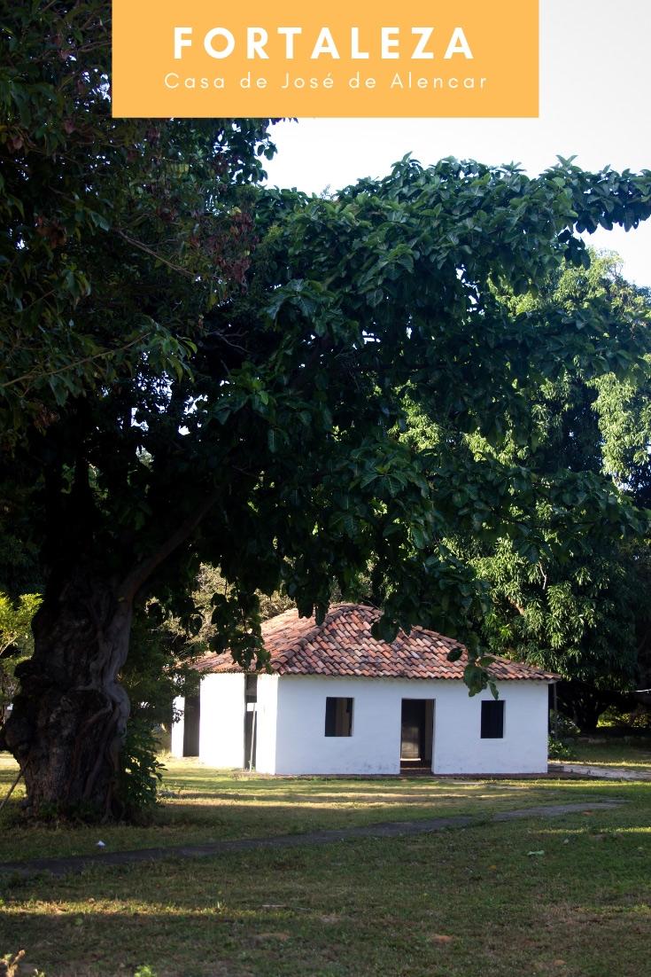 Casa de José de Alencar - Uma parada obrigatória incrível para fazer no Estado do Ceará. A casa é tombada pelo Patrimônio Histórico e vale muito conhecer.