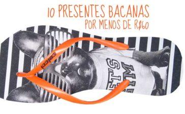 10 presentes de criativos por menos de 60 reais
