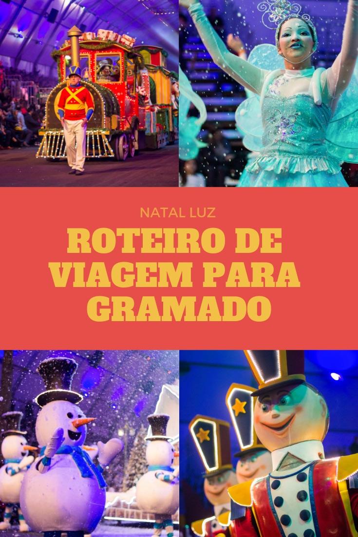 Natal Luz - Confira um roteiro de viagem para Gramando com de dicas sobre os shows e programação do natal luz, museus, parques, restaurantes, parques.
