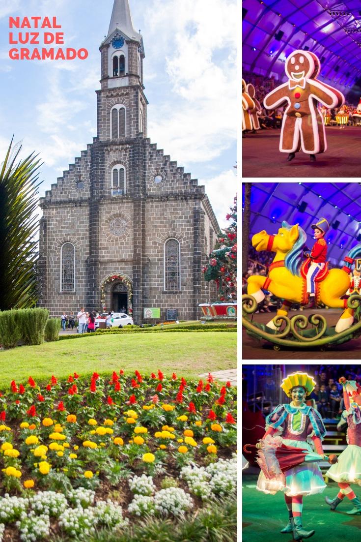 Descubra tudo que você pode conferir no Natal Luz de Gramado. Tem show de acendimento, desfile de natal, fantástica fábrica, espetáculo e muitas atividades!