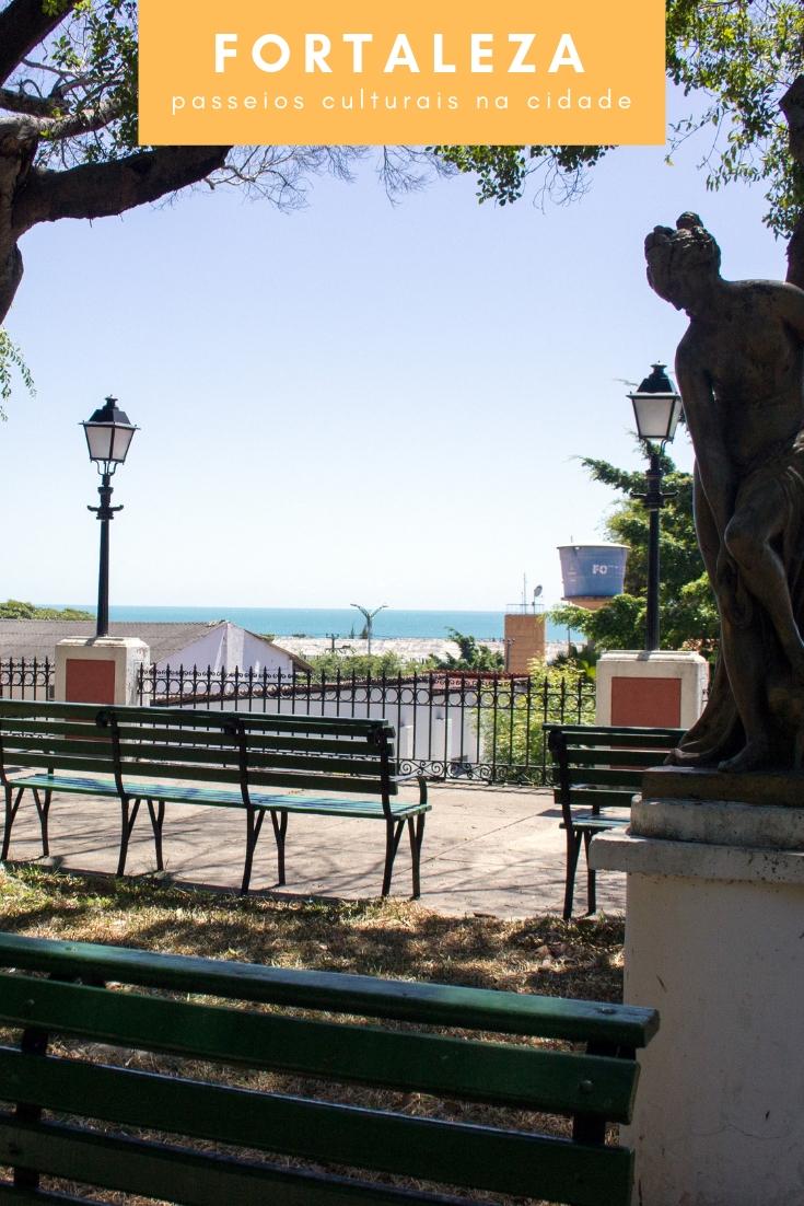 Fortaleza - Confira a seleção dos três melhores atrativos para você conhecer de Cultura na cidade. Passeio Público, Casa José de Alencar e Dragão do Mar.