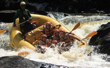 Rafting no Rio Jacaré Pepira