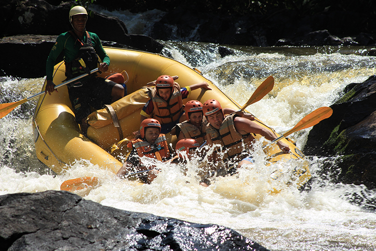 Como fazer fotos incríveis em sua viagem - Rafting no Rio Jacaré Pepira