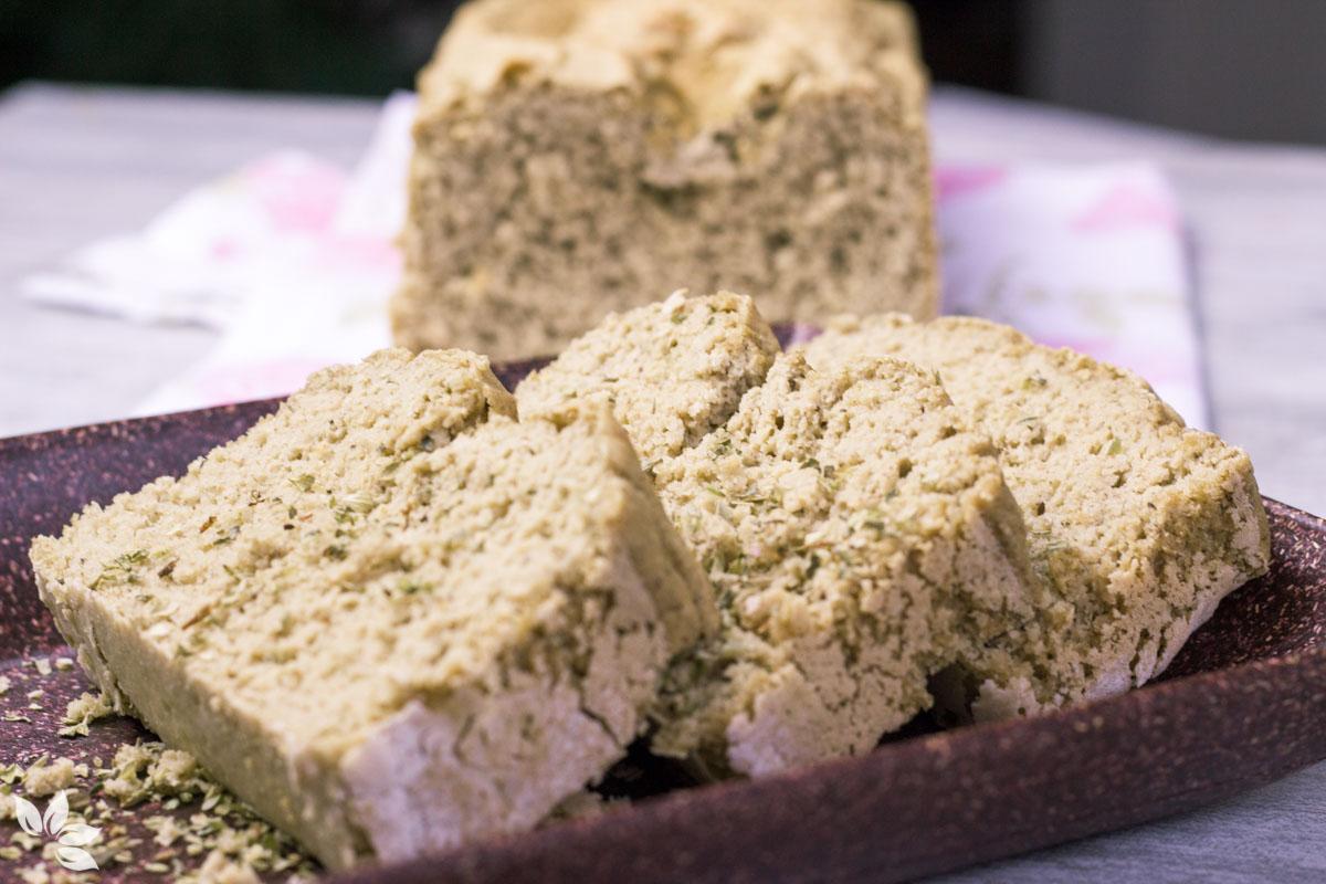 Receita de Pão sem glúten de chia com quinoa