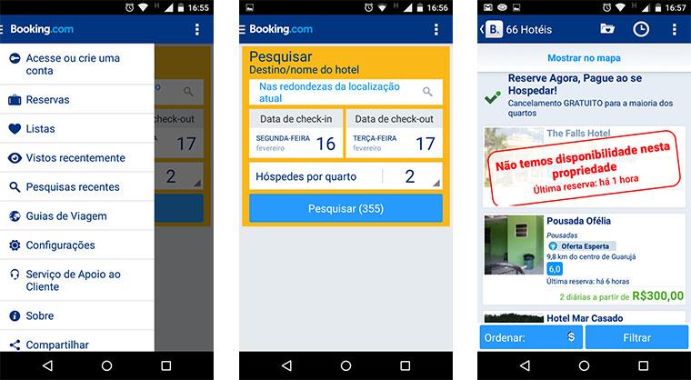 6 Apps gratuitos para aproveitar melhor a sua viagem - Booking