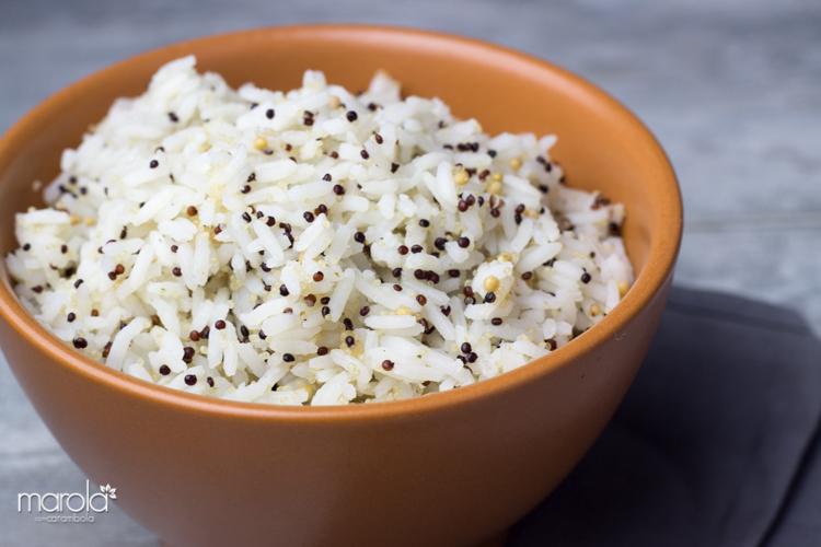 Receita de Arroz com Quinoa Negra e Amaranto