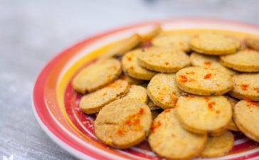 Receita de Biscoitinhos de Alcaparras